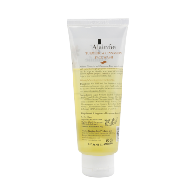 turmeric face wash